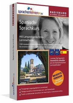 Spanisch-Basiskurs, PC CD-ROM m. MP3-Audio-CD
