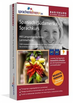 Spanisch (Südamerika)-Basiskurs, PC CD-ROM m. MP3-Audio-CD