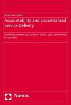 Accountability and Decentralized Service Delivery - Eckardt, Sebastian