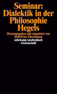 Seminar: Dialektik in der Philosophie Hegels