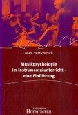 Musikpsychologie im Instrumentalunterricht - eine Einführung