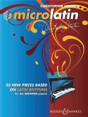 Microlatin: 20 Pieces Based on Latin Rhythms for the Beginner Pianist [With CD]