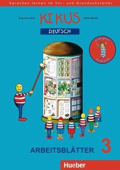 Arbeitsblätter 3, Kindergarten/Primarschule