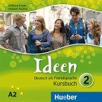 3 Audio-CDs zum Kursbuch / Ideen - Deutsch als Fremdsprache Bd.2