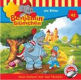 Benjamin Blümchen als Ritter / Benjamin Blümchen Bd.42 (1 Audio-CD)