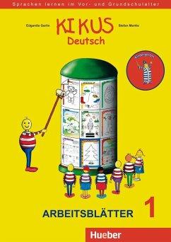 Arbeitsblätter 1, Kindergarten