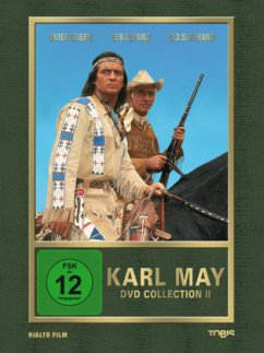 Karl May DVD Collection II: Winnetou trifft Old Surehand (3 DVDs)