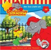 Der Zoo zieht um / Benjamin Blümchen Bd.38 (1 Audio-CD)