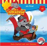 Benjamin Blümchen als Pirat / Benjamin Blümchen Bd.41 (1 Audio-CD)