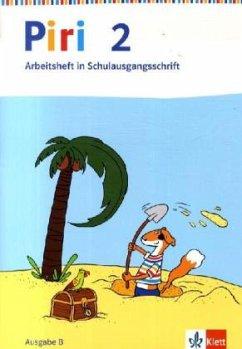 Piri Das Sprach-Lese-Buch. Arbeitsheft in Schulausgangsschrift 2. Schuljahr. Ausgabe Ost