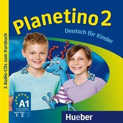 3 Audio-CDs zum Kursbuch / Planetino Bd.2 - Kopp, Gabriele; Büttner, Siegfried; Alberti, Josef