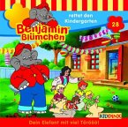 Benjamin Blümchen rettet den Kindergarten / Benjamin Blümchen Bd.28 (1 Audio-CD)