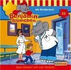 Benjamin Blümchen als Kinderarzt / Benjamin Blümchen Bd.22 (1 Audio-CD)