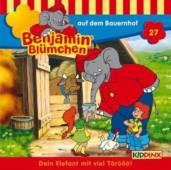 Benjamin Blümchen auf dem Bauernhof / Benjamin Blümchen Bd.27 (1 Audio-CD)