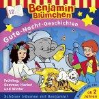 Benjamin Blümchen, Gute-Nacht-Geschichten - Frühling, Sommer, Herbst und Winter, 1 Audio-CD