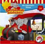 Benjamin Blümchen als Lokomotivführer / Benjamin Blümchen Bd.34 (1 Audio-CD)