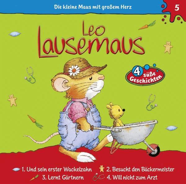 leo lausemaus, 1 audio-cd - hörbücher portofrei bei bücher.de