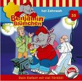 Benjamin Blümchen hat Zahnweh / Benjamin Blümchen Bd.35 (1 Audio-CD)