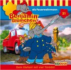 Benjamin Blümchen als Feuerwehrmann / Benjamin Blümchen Bd.31 (1 Audio-CD)