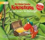 Der kleine Drache Kokosnuss und der Schatz im Dschungel / Die Abenteuer des kleinen Drachen Kokosnuss Bd.11, 1 Audio-CD