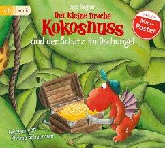 Der kleine Drache Kokosnuss und der Schatz im Dschungel / Die Abenteuer des kleinen Drachen Kokosnuss Bd.11, 1 Audio-CD - Siegner, Ingo