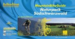 Bikeline Südlicher Schwarzwald. MountainBikeGuide - Wöhrstein, Thomas