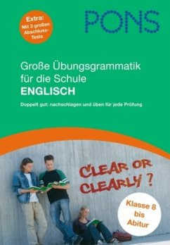 PONS Große Übungsgrammatik für die Schule Englisch