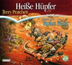 Heiße Hüpfer / Scheibenwelt Bd.22 (3 Audio-CDs) - Pratchett, Terry