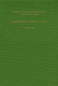 Baghdader Mitteilungen 33