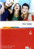 Red Line 4. Workbook mit Audio-CD und Lernsoftware