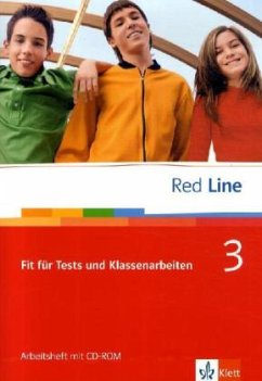 Red Line 3. Fit für Tests und Klassenarbeiten mit CD-ROM
