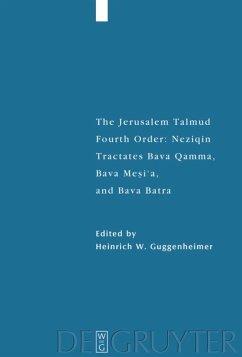 Tractates Bava Qamma, Bava Mesi'a, and Bava Batra