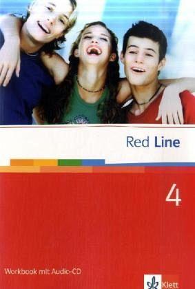 red line 4 workbook mit audio cd schulb cher portofrei bei b. Black Bedroom Furniture Sets. Home Design Ideas