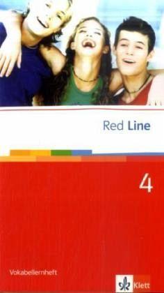 red line 4 vokabellernheft schulb cher portofrei bei b. Black Bedroom Furniture Sets. Home Design Ideas