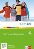 Green Line 4. Fit für Tests und Klassenarbeiten, Arbeitsheft und CD-ROM mit Lösungsheft