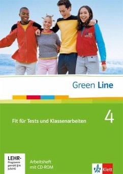 Green Line 4. Fit für Tests und Klassenarbeiten, Arbeitsheft und CD-ROM mit Lösungsheft - Horner, Marion