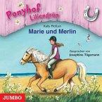Marie und Merlin / Ponyhof Liliengrün Bd.1 (1 Audio-CD)