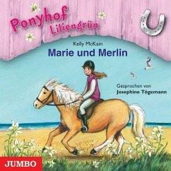 Marie und Merlin / Ponyhof Liliengrün Bd.1 (1 Audio-CD) - McKain, Kelly