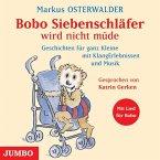 Bobo Siebenschläfer wird nicht müde, Audio-CD