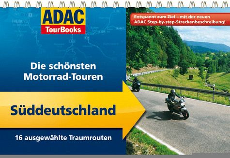 adac tourbooks die sch nsten motorrad touren. Black Bedroom Furniture Sets. Home Design Ideas