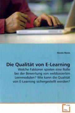 Die Qualität von E-Learning