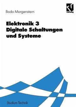 Elektronik - Morgenstern, Bodo