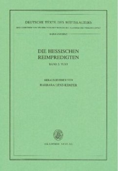 Die Hessischen Reimpredigten