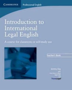 Teacher's Book / Introduction to International Legal English - Day, Jeremy