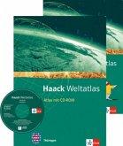"""Haack Weltatlas für die Sekundarstufe I. Mit 1 CD-ROM und einem Arbeitsheft """"Kartenlesen"""". Ausgabe für Thüringen"""