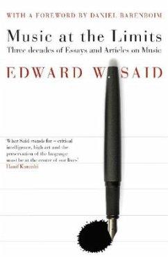 Music at the Limits - Said, Edward