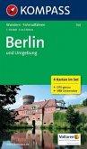 Kompass Karte Berlin und Umgebung, 4 Bl.