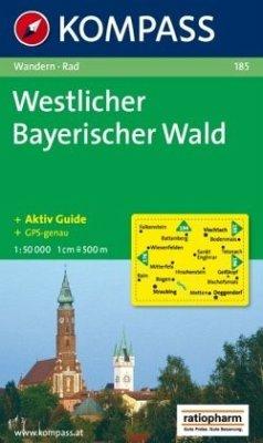Kompass Karte Westlicher Bayerischer Wald