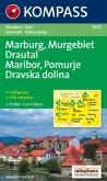 KOMPASS Wanderkarte Marburg/Maribor - Murgebiet/Pomurje - Drautal/Dravska dolina