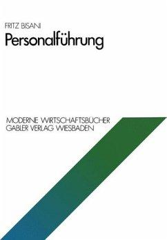 Personalführung. Moderne Wirtschaftsbücher ; 02
